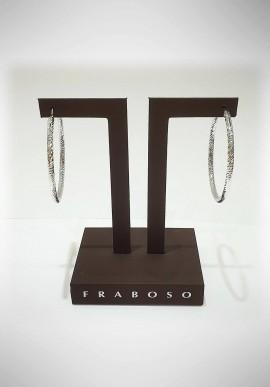 Fraboso 925 silver earrings FBS09
