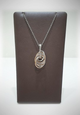 Fraboso 925 silver necklace FBS23