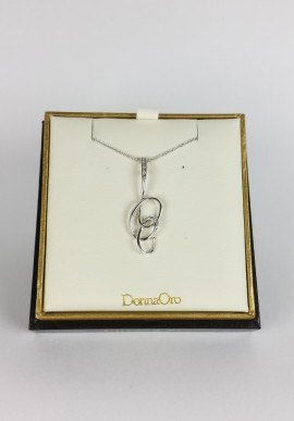DonnaOro necklace with diamonds