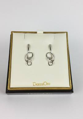 DonnaOro earrings with diamonds