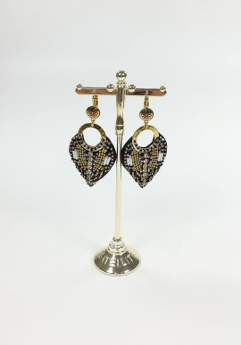 Indian Amazon Satellite Earrings mod. DG11DO