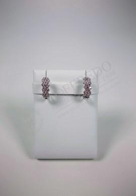 White gold earrings Lenti with diamonds mod. LEN1605