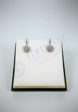Earrings DonnaOro with diamonds mod. DFOF3584.013