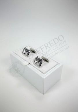 Fani Silver Cufflinks mod. GI005