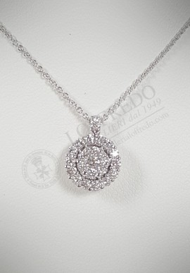 Crivelli necklace with diamonds CRV130