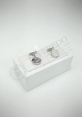 Fani Silver cufflinks G1654.1