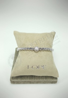 "Fope ""EKA"" gold bracelt with diamonds 06674090"