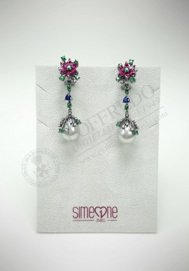 BySimon silver earrings 11014966