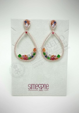 BySimon silver earrings 11017998