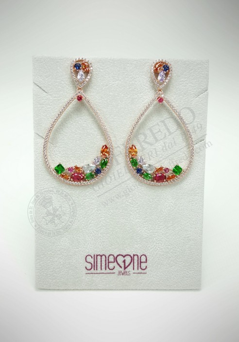 BySimon silver earrings 11017998