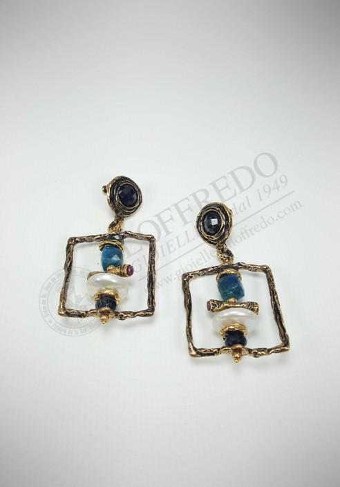 "Alcozer ""Unique"" earrings ACZ1666"