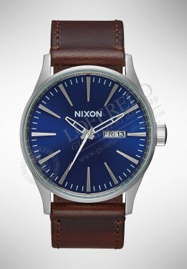 "Nixon ""SENTRY LEATHER"" watch A105 1524"
