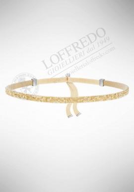 Swarovski Crystaldust Choker, Gold Tone 5279166