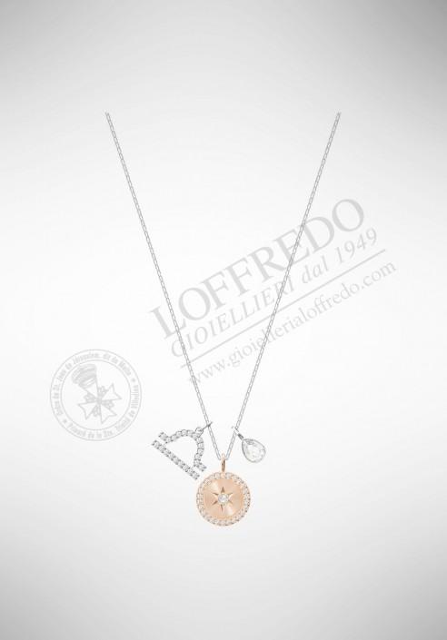 Swarovski Zodiac Pendant, Libra, White 5349218