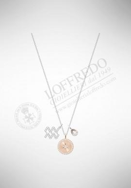 Swarovski Zodiac Pendant, Aquarius, Gray 5349213