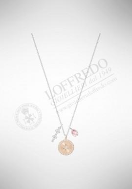 Swarovski Zodiac Pendant, Sagittarius, Pink 5349221