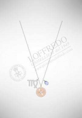 Swarovski Zodiac Pendant, Virgo, Violet 5349224