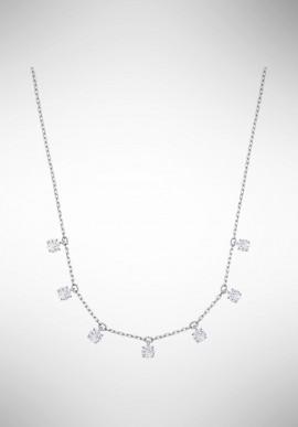 Swarovski Attract Choker, White, Rhodium plating 5367966