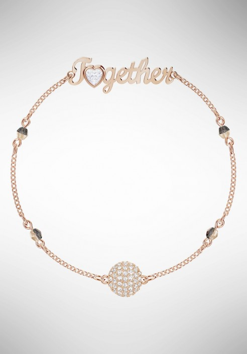 9b2e1db48 Swarovski Remix Collection Together, White, Rose gold plating 5375198 -  Gioielleria Loffredo