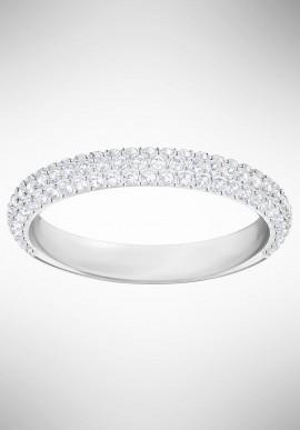Swarovski Stone Mini Ring, White, Rhodium plating 5383948