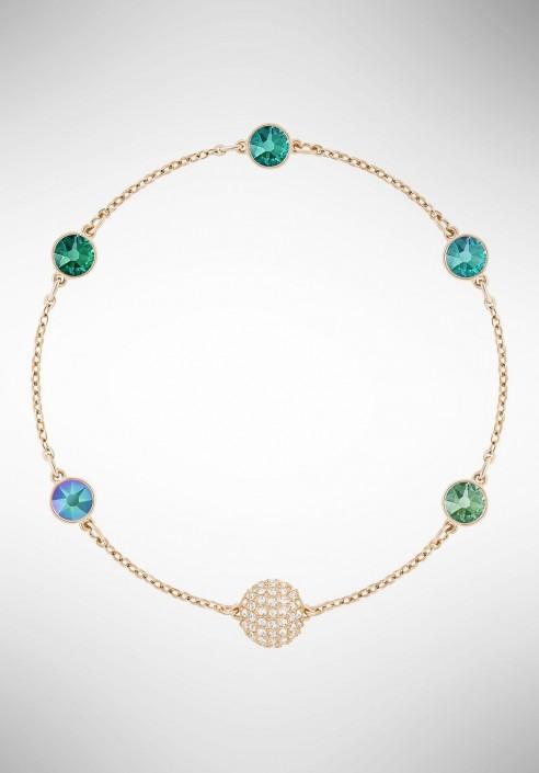 Swarovski Remix Collection Green, Multi-colored, Rose gold plating 5403214