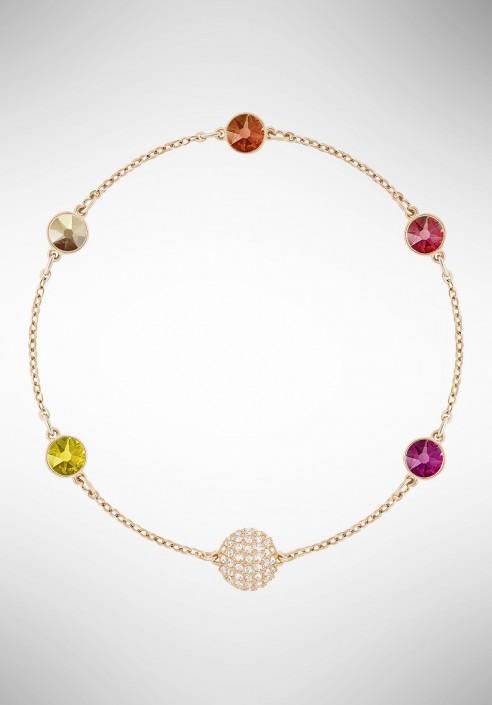 Swarovski Remix Collection Orange, Multi-colored, Rose gold plating 5403215