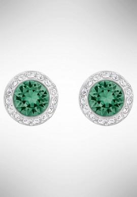 Orecchini Swarovski Angelic, verde, placcatura rodio 5267105