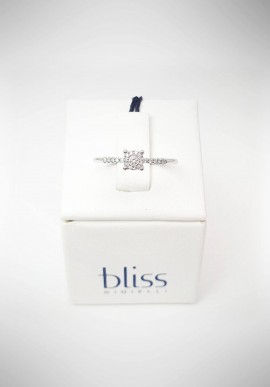 Ring Bliss Morettina white gold with diamonds ring 20061667