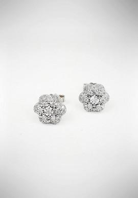 Orecchini DonnaOro oro bianco con brillanti DIOF5397.025