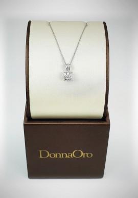 Collana con brillanti DonnaOro mod.DIPF3550.034