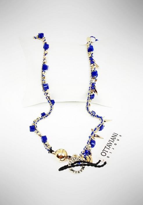 Ottaviani golden metal necklace 500135B