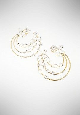 Ottaviani earrings with crystals 5000950