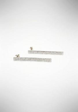 Ottaviani earrings with rhinestones 5001610