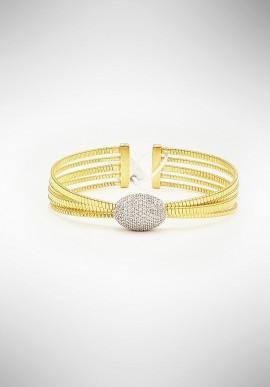 Marcello Pane silver bracelet BRFO075