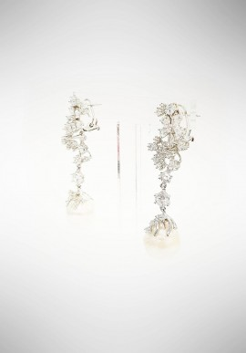 Marcello Pane silver earrings ORMS073