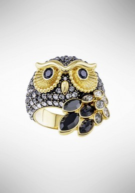 "Swarovski ""March Owl"" ring 5448881"