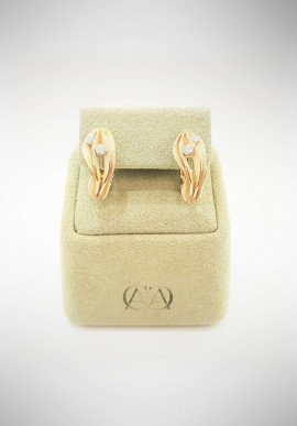 "Annamaria Cammilli ""Dune"" Earrings GOR0779J"