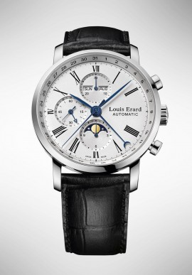 Louis Erard Excellence Moon Phase Watch 80231AA01.BDC51