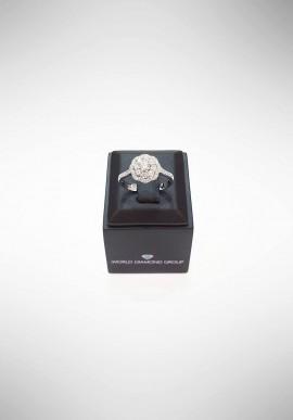 Anello con diamanti World Diamond Group ACT004DI1