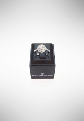 World Diamond Group Ring with diamonds ACT004DI1