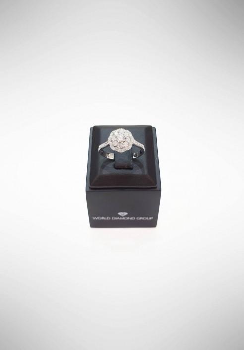 World Diamond Group Ring with diamonds ACT004DI1