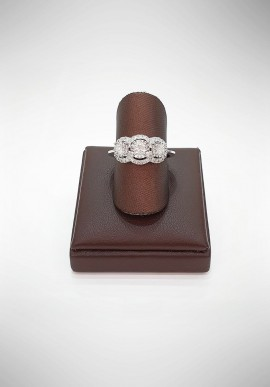 Donnaoro Trilogy Ring with Diamonds DFAF5621.054