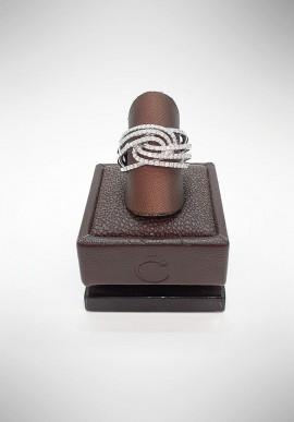 Crivelli ring with diamonds CRV2119
