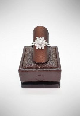 Crivelli ring with diamonds CRV2219