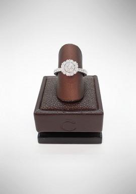 Crivelli ring with diamonds CRV2419